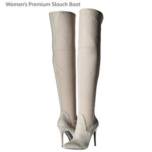 Charles and David Premium Slouch Boots